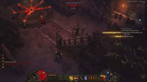 Diablo 3 - Komplettlösung : Der Templer wird von Kultisten festgehalten. Wir befreien ihn.