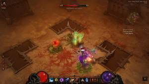 Diablo 3 - Komplettlösung : Bosskampf gegen die Hexe Maghda.