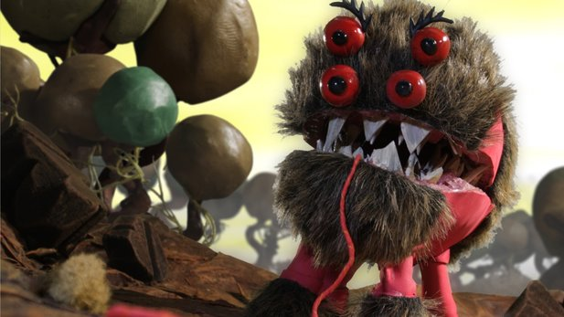 Armikrog - Test-Video: Flauschige Quader schieben