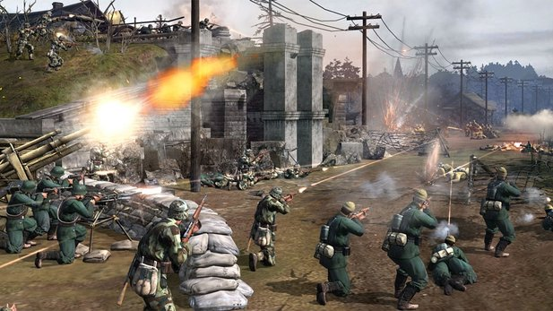 Am 12. November erscheint das Content-Update »Turning Point« für Company of Heroes 2.