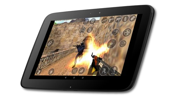 Counter-Strike 1.6 - Der Shooter-Klassiker auf einem Android-Tablet