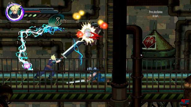 Final Fantasy 7 Re-Imagined - Gameplay-Trailer zur Fan-Umsetzung als 2D-Beat'em up