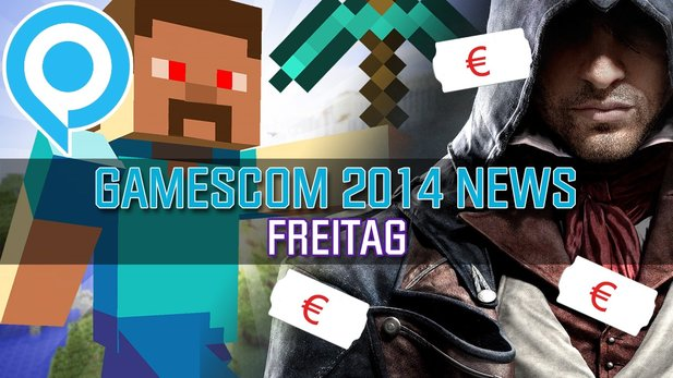 gamescom-News: Freitag - Microtransactions in Assassin's Creed Unity & Minecraft-Messe-Betrug