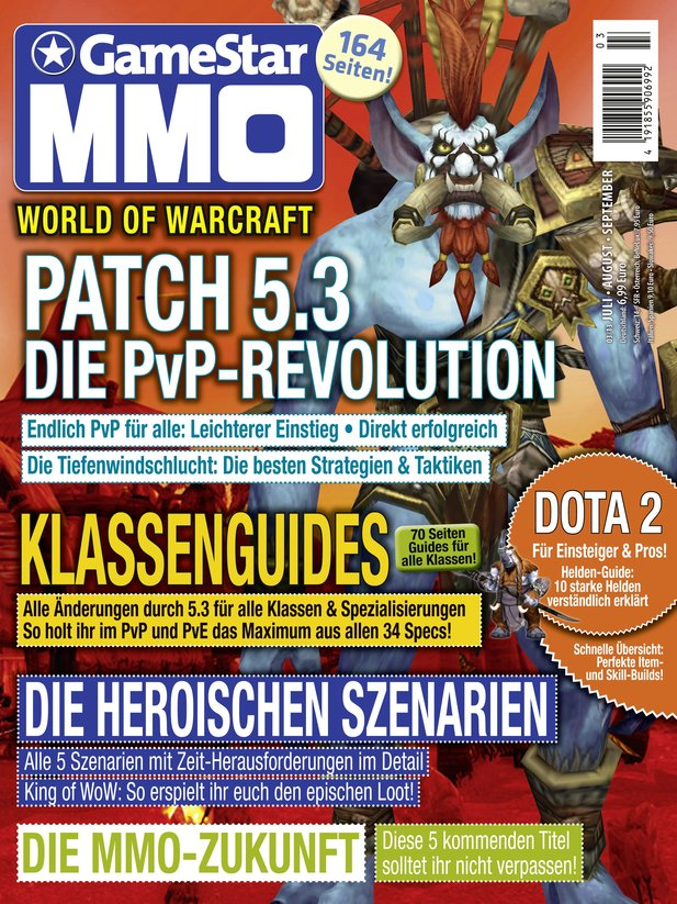 Gamestar MMO-Magazin ab 26.06. am Kiosk