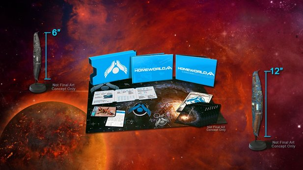 Die Homeworld Remastered Collection ist ab sofort beim US-Amazon vorbestellbar. Kostenpunkt für die Collector's Edition: 99 US-Dollar.
