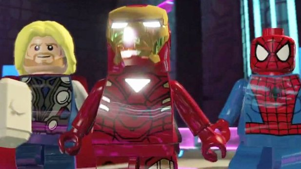 LEGO Marvel Super Heroes - Launch-Trailer mit Klötzchen-Versionen von Thor, Iron Man & Co.
