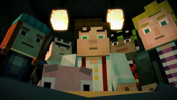 Minecraft: Story Mode - Story-Trailer zur ersten Episode: »Order of the Stone«