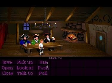 Die SCUMM-Bar in Secret of Monkey Island.