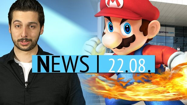 News - Freitag, 22. August 2014 - Nintendo gewinnt die gamescom & Robin Williams in WoW verewigt