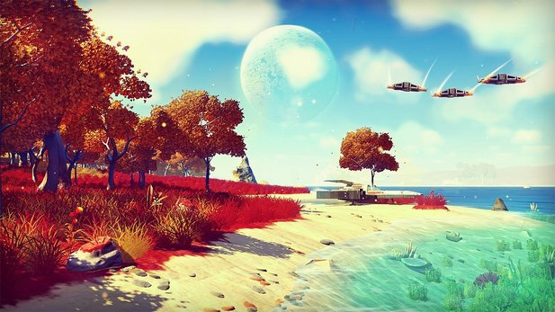 No Man's Sky - Preview-Video zum ambitionierten Weltraum-Spiel