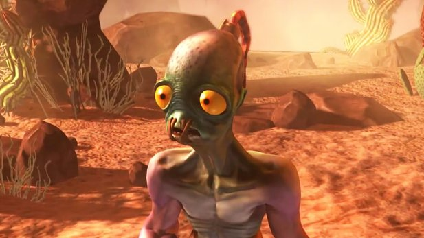 Oddworld: Abe's Oddysee – New 'n' Tasty - E3-Trailer: Musik & Setting