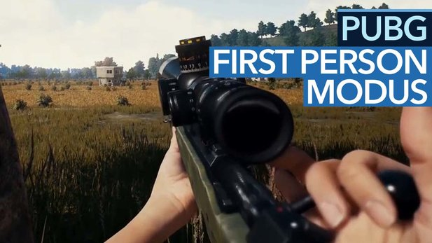Playerunknown's Battlegrounds - Video: Eine Runde im First-Person-Modus
