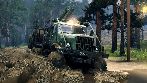 Spintires - Test-Video zur Offroad-Simulation