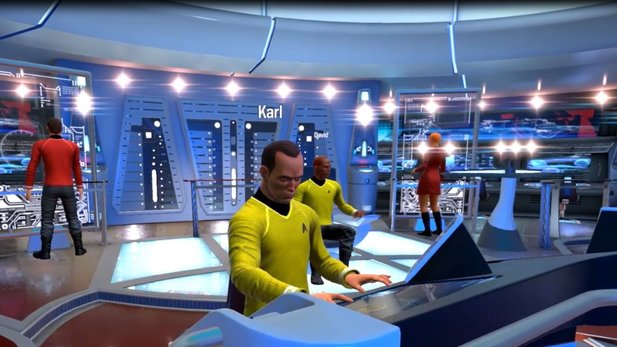 Star Trek: Bridge Crew - E3-Trailer zeigt Geordi La Forge beim Star-Trek-Spielen