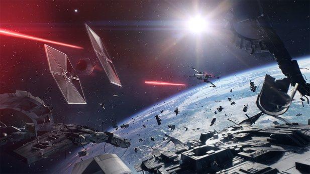 Star Wars Battlefront 2: Gamescom-Trailer zeigt Weltraumschlachten