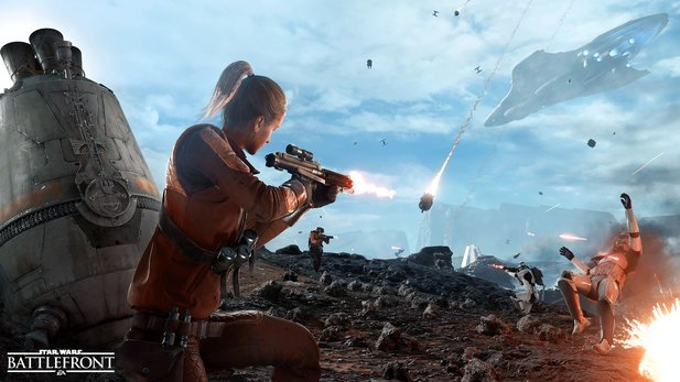 Ein Youtube-Video zu Star Wars: Battlefront zeigt zehn Minuten Gameplay aus dem Assault-Modus.