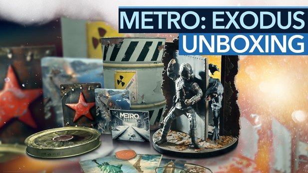 Metro: Exodus Spartan Edition Unboxing - Video: Das steckt in der Atommülltonne