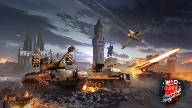 War Thunder - Trailer zum »Firestorm«-Update