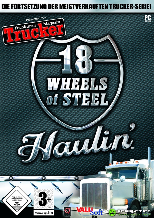Cover zu 18 Wheels of Steel: Haulin'