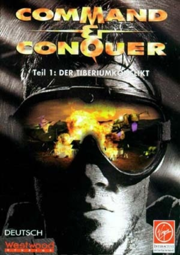 Cover zu Command & Conquer (1995)