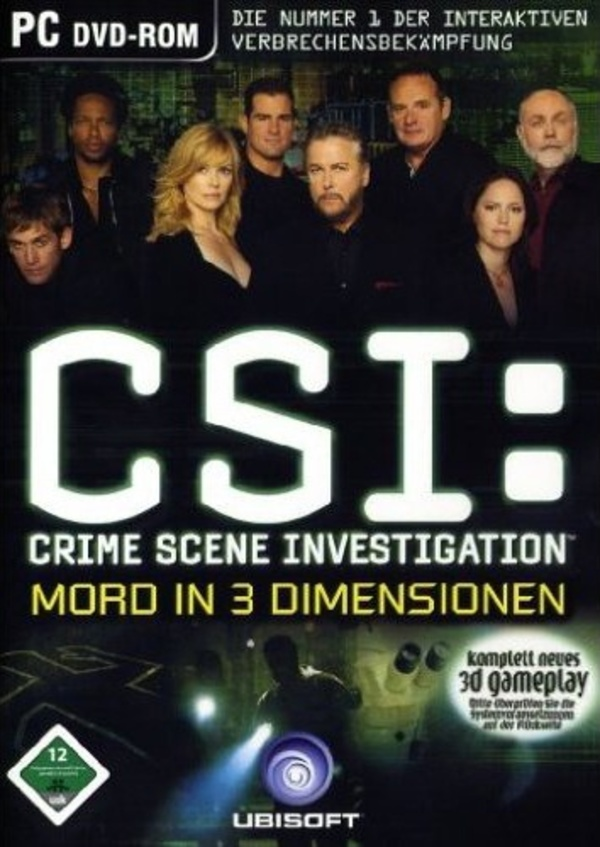 Cover zu CSI: Mord in 3 Dimensionen