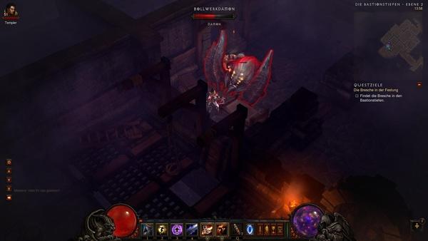 Diablo 3 - Komplettlösung : Eine relativ starke Kreatur: Der Bollwerkdämon