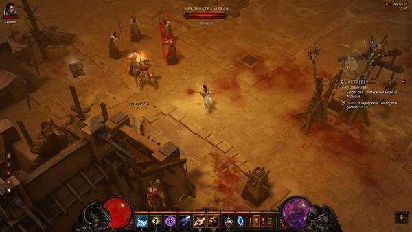 Diablo 3 - Komplettlösung : alte Bekannte: Maghdas Kultisten
