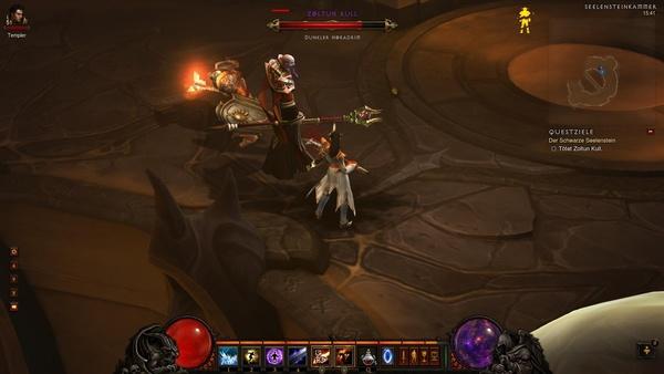 Diablo 3 - Komplettlösung : Fiesling Zoltun Kull
