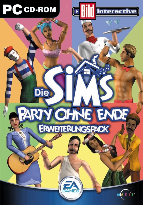 Cover zu Die Sims: Party ohne Ende