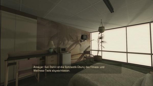 Portal 2 : Portal 2 beginnt gemächlich in einer spärlich eingerichteten Wohnung.