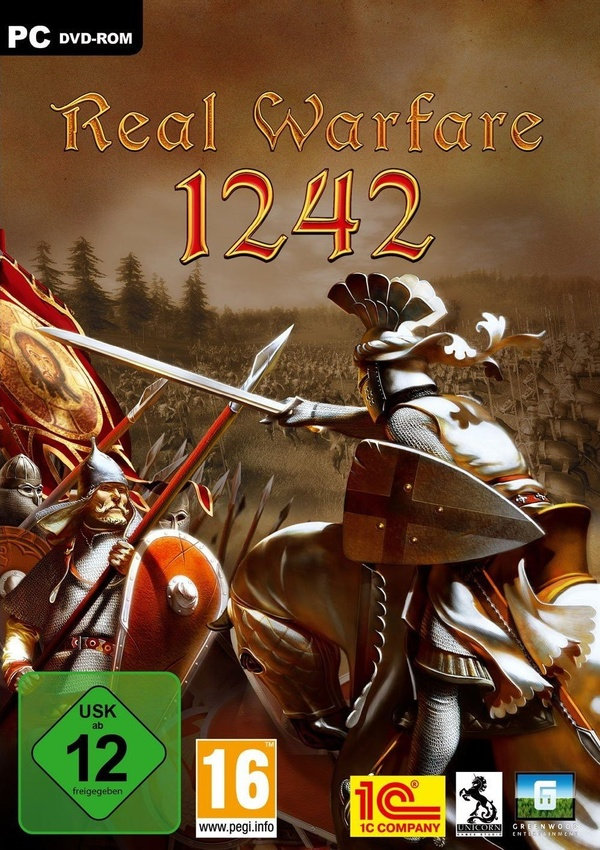 Cover zu Real Warfare: 1242