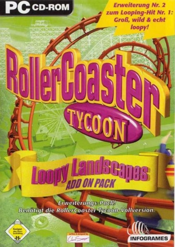 Cover zu Rollercoaster Tycoon: Loopy Landscapes