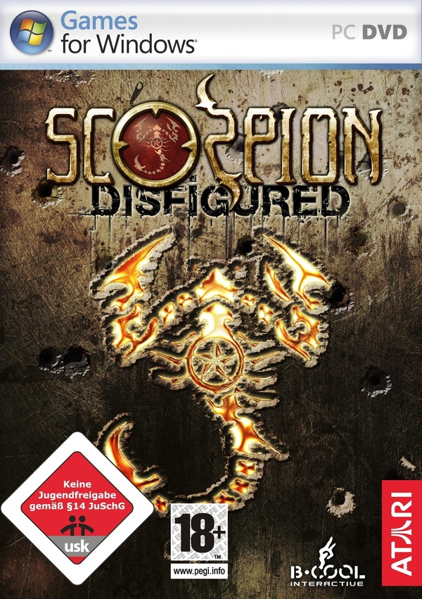 Cover zu Scorpion: Disfigured