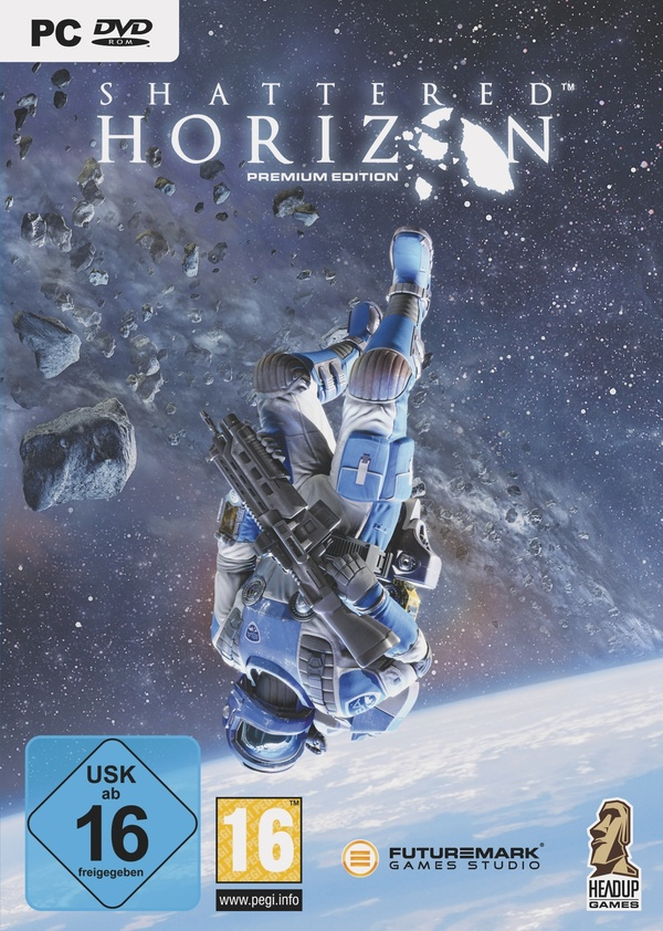 Cover zu Shattered Horizon