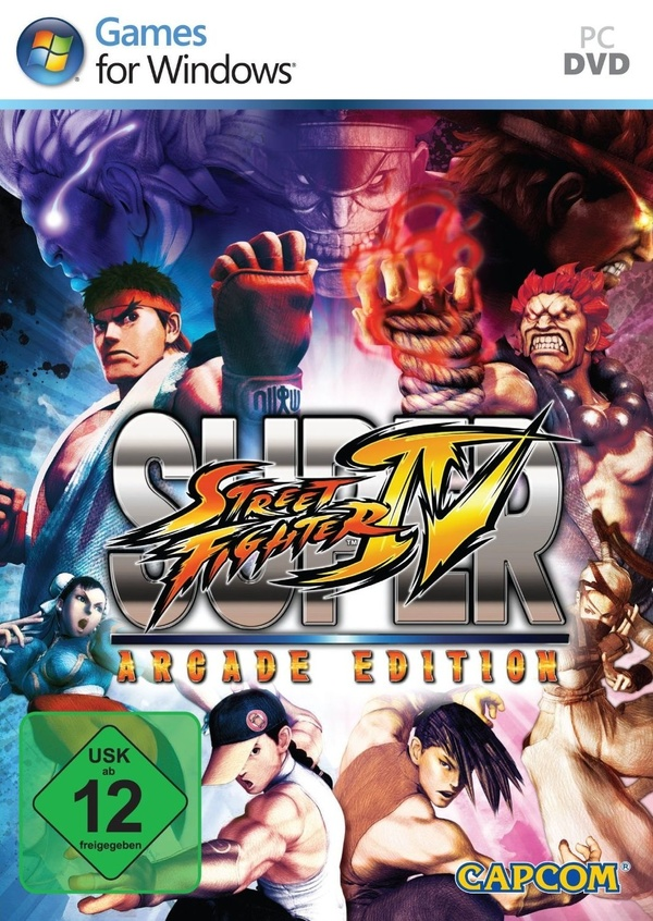 Cover zu Super Street Fighter 4: Arcade Edition