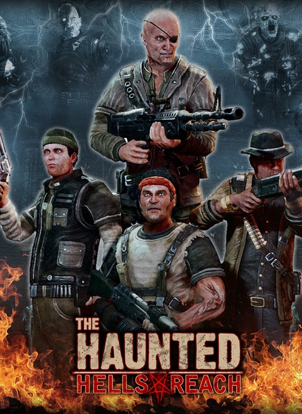 Cover zu The Haunted: Hell's Reach