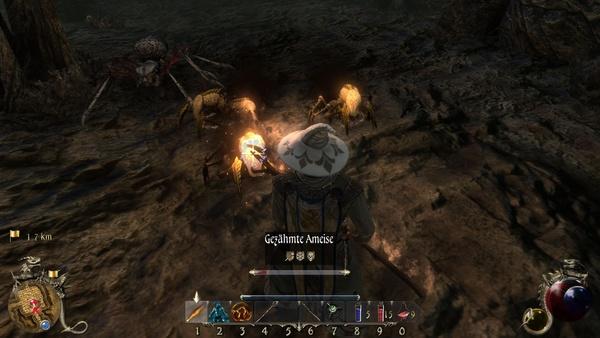 Two Worlds 2 : Selbst zahllose Gegner können manche Höhle nicht zum Leben erwecken.