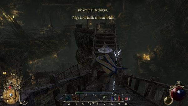 Two Worlds 2 : Wie es besser geht, zeigt zum Beispiel diese Mine…