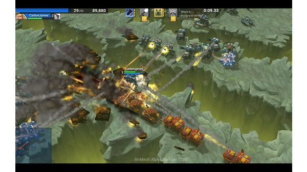 Screenshot zu AirMech - Screenshots aus der PC-Version