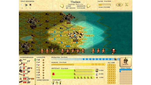 Screenshot zu Civilization 3 - Screenshots
