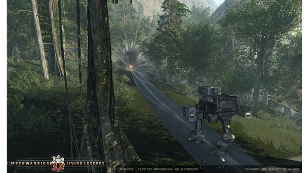 Screenshot zu Crysis - Mod: MechWarrior Living Legends