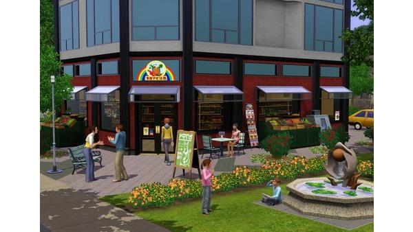 Screenshot zu Die Sims 3 - DLC: Stadt-Accessoires