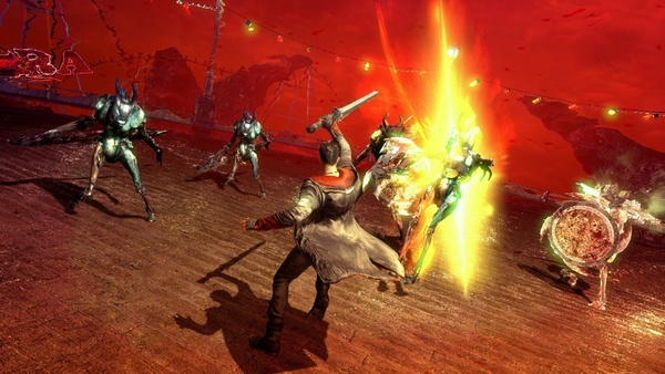 Screenshot zu DmC - Screenshots zum Bloody Palace-Modus