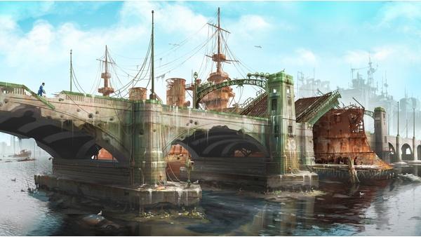 Screenshot zu Fallout 4 - Artworks und Konzeptzeichnungen