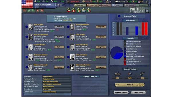 Screenshot zu Hearts of Iron 3 - Screenshots