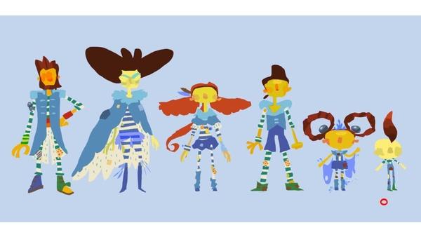 Bild der Galerie Psychonauts - Das ist die Aquato-Familie