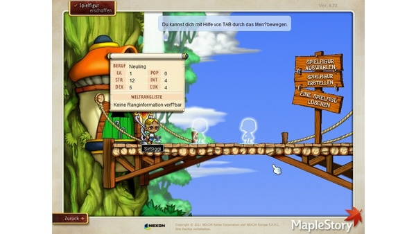 Screenshot zu MapleStory - Screenshots