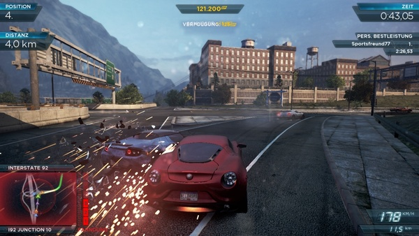 Screenshot zu Need for Speed: Most Wanted - Screenshots