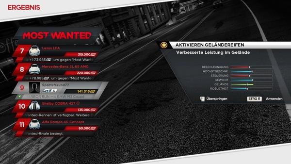 Screenshot zu Need for Speed: Most Wanted - Screenshots