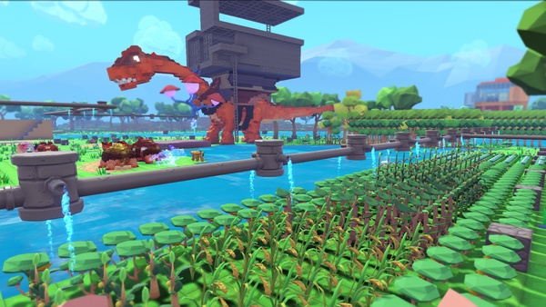 Screenshot zu PixARK - Screenshots aus dem ARK-Minecraft-Spinoff